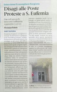 Lettera ai vertici di Poste Italiane