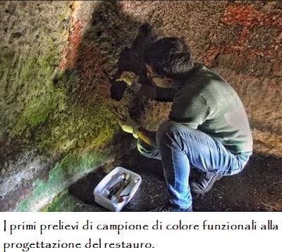 Archeologia.  Tomba Dipinta di Mandras, Ardauli (OR) - Finalmente i fondi per il restauro.  Articolo di Cinzia Loi