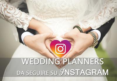 INSTAGRAM migliori wedding planner