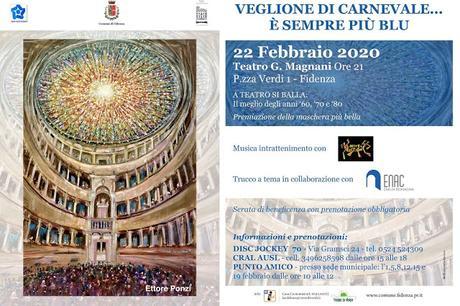 Veglione di Carnevale al Teatro Magnani di Fidenza
