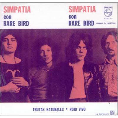 I Rare Bird in classifica: era il 1970