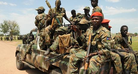 Risultato immagini per sud sudan in armi