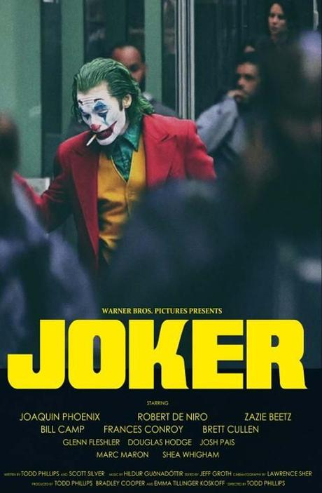 Joker è la rappresentazione della discesa nella follia di un uomo che vive ai margini della società.