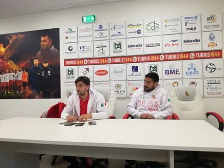 """Turris-Budoni, parlano Esempio e Aliperta nel post gara: """"Vogliamo solo la promozione"""""""