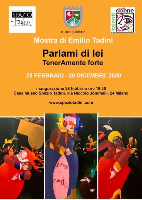 Emilio Tadini: Parlami di lei, tenerAmente forte per i talenti delle donne