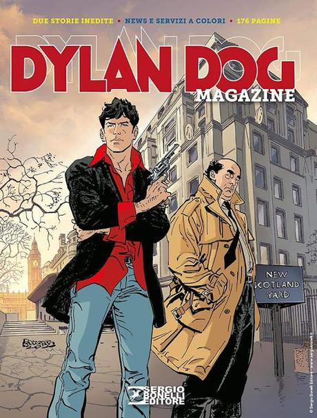 Preview: Dylan Dog Magazine 2020