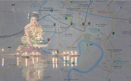 Loy Krathong a Bangkok: 12 luoghi dove andare a celebrare ilThanksgiving tailandese (con mappa interattiva)