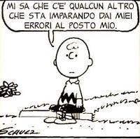 Gli errori di Charlie Brown