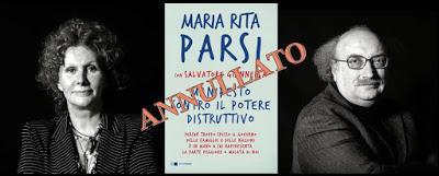 Annullato l'incontro con MARIA RITA PARSI e SALVATORE GIANNELLA