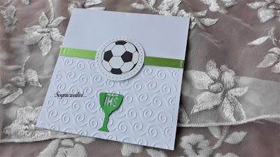 Inviti per Prima Comunione tema calcio e Juventus