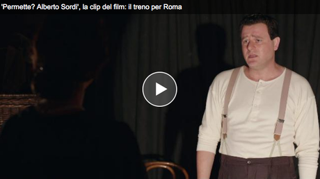 """Il 24 marzo in onda in prima visione su Rai 1 """"Permette? Alberto Sordi"""""""