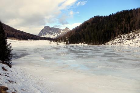 lago calaita inverno ciaspole