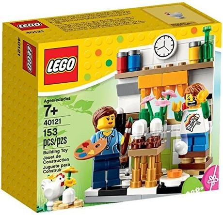 Lego 40121 – Set Pasqua 2015 (Painting Easter Eggs)