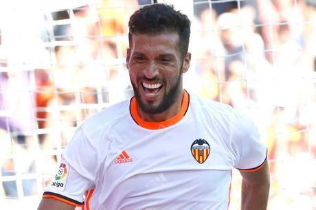 Ezequiel Garay giocatore del Valencia
