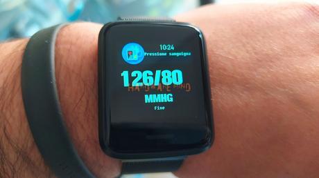 Recensione Alfawise H19: Smartwatch economico che misura la pressione