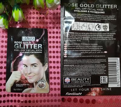Maschere Glitter Peel Off Beauty Formulas