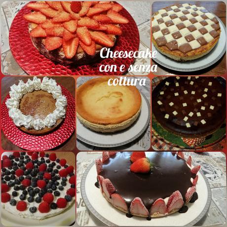 Cheesecake con e senza cottura