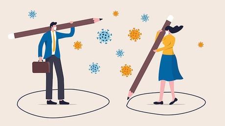Distanziamento sociale contro il COVID-19. Chi ci guadagna?