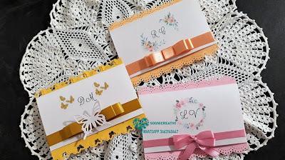 Partecipazioni matrimonio nozze a fisarmonica tema fiori e primavera