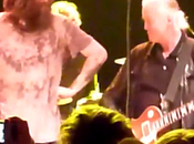 Jimmy Page Raggiunge palco Black Crowes (video)