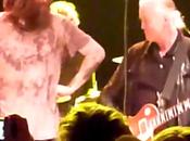 Jimmy Page Raggiunge palco Black Crowes (video)