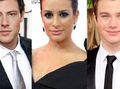 Scandalo! Glee saranno Michele, Cory Monteith Chris Colfer!