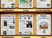 quotidiani italiani l'app Giornali Oggi.