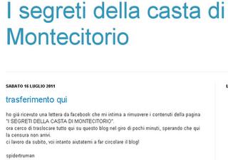 Il blog del precario arrabbiato e licenziato dalla casta: i segreti della casta di Montecitorio