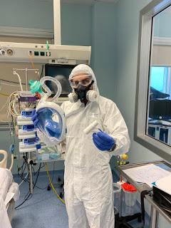 Le maschere da sub Easybreath diventano dispositivi di sicurezza per il personale medico. I privati le donano e Orthom di Ragusa le trasforma
