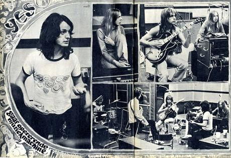 YES nel marzo del 1972