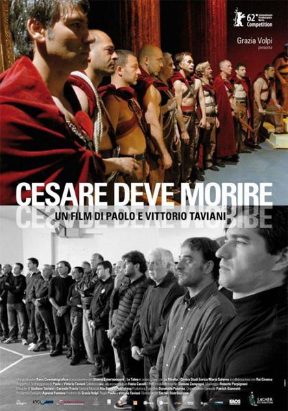 Shakespeare entra in carcere con Cesare Deve Morire dei fratelli Taviani.