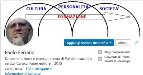 Paolo Ferrario:Blog, Twitter, Facebook, Linkedin
