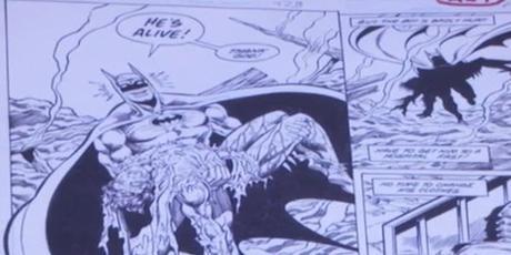 Batman, per la prima volta la DC Comics mostra le tavole del finale alternativo di