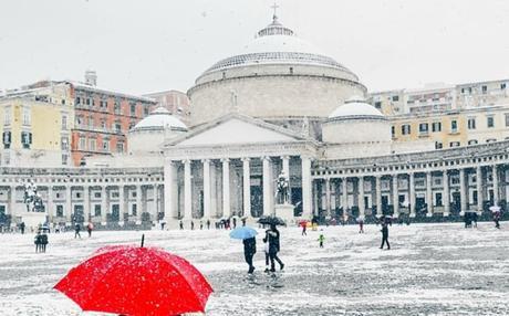 Allerta meteo in tutta la Campania: calo delle temperature e nevicate