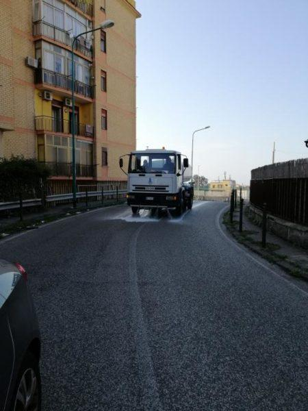 Coronavirus, sanificazione a Torre del Greco: le strade interessate