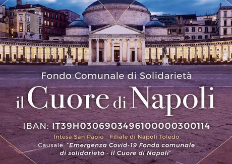 Coronavirus, il Comune di Napoli apre un conto per le donazioni
