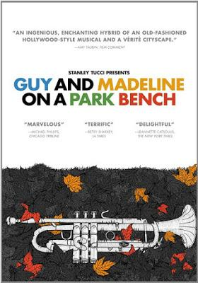 INVISIBILI: GUY AND MADELINE ON A PARK BENCH