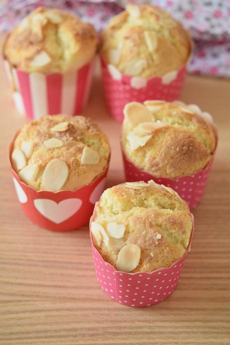 Muffin di arancia e mandorle ricetta con Bimby