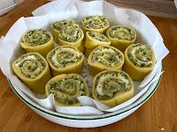 Torta di rose alle Zucchine e formaggi