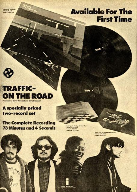 Traffic on the road nell'aprile del 1973