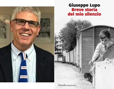 """GIUSEPPE LUPO con """"Breve storia del mio silenzio"""" (Marsilio) in radio a LETTERATITUDINE"""