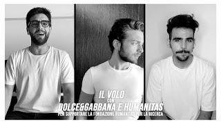 Il Volo e Dolce&Gabbana: Insieme per la Campagna Social #DGFATTOINCASA