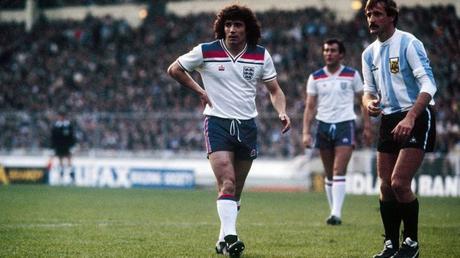 La gloria postuma della maglia Admiral 1980-83 dell'Inghilterra