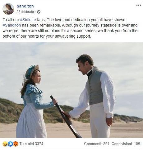 Sanditon, serie ITV, 2019 | La Riviera dei Cuori Infranti