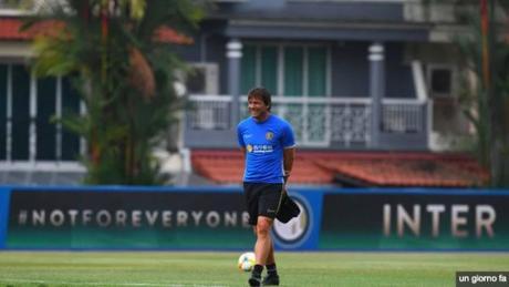 Inter Conte allenamenti