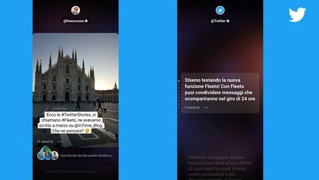 Twitter sceglie l′Italia per lanciare Fleet, abbracciando l'effimero