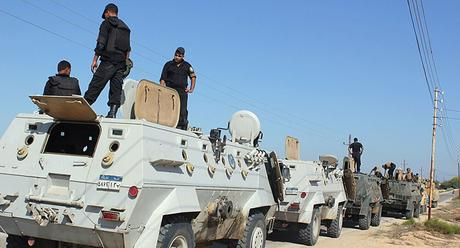 Militari egiziani eliminano 7 terroristi nel nord del Sinai ...