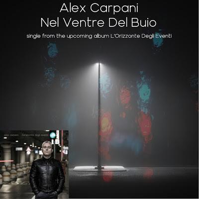 Nel ventre del buio: il nuovo singolo di ALEX CARPANI!