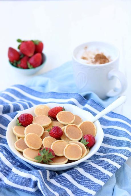 Cereal Pancakes: mini pancakes a forma di cereali