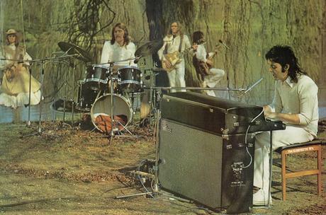 Paul Mc Cartney nel maggio del 1973